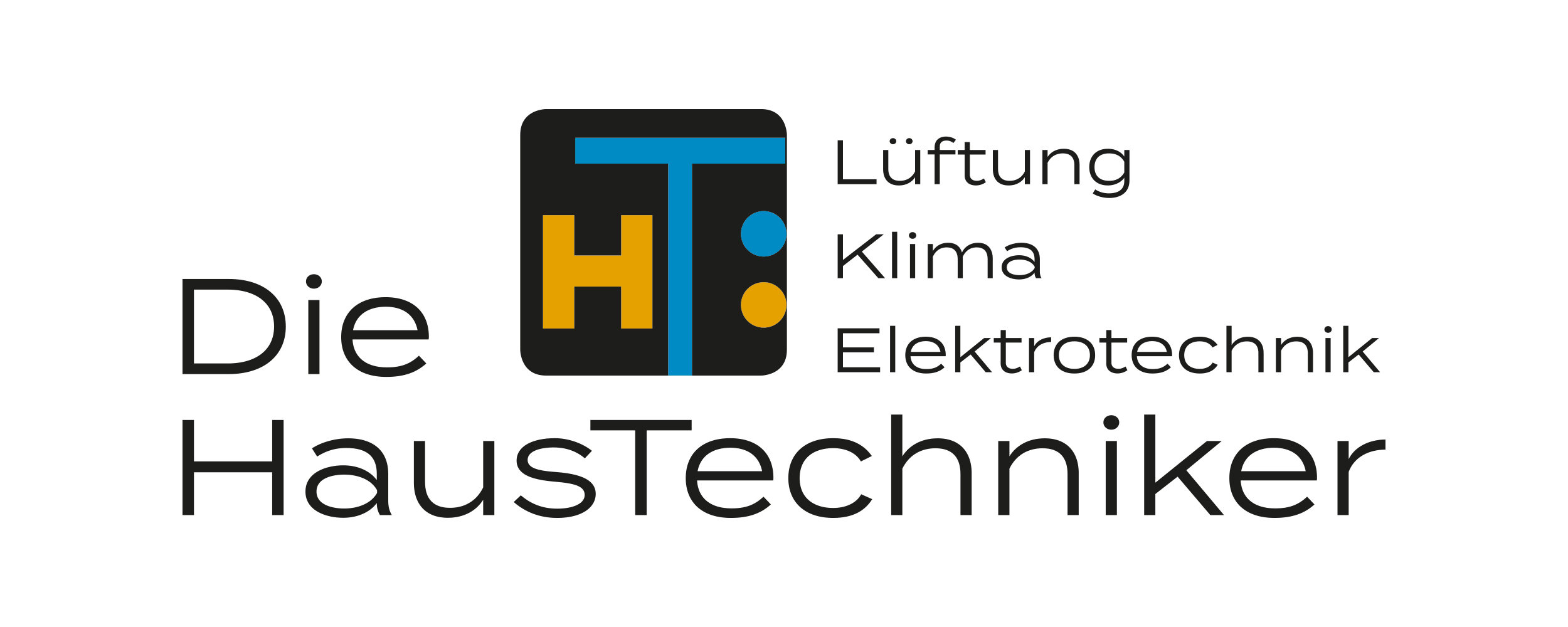 Logo Die Haustechniker GmbH Leonberg Lüftung Klima Elektrotechnik
